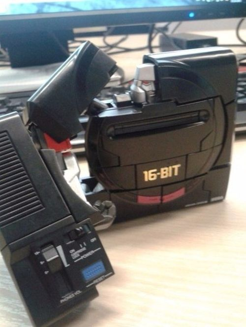 This Sega Mega Drive Is Actually A Robot In Disguise