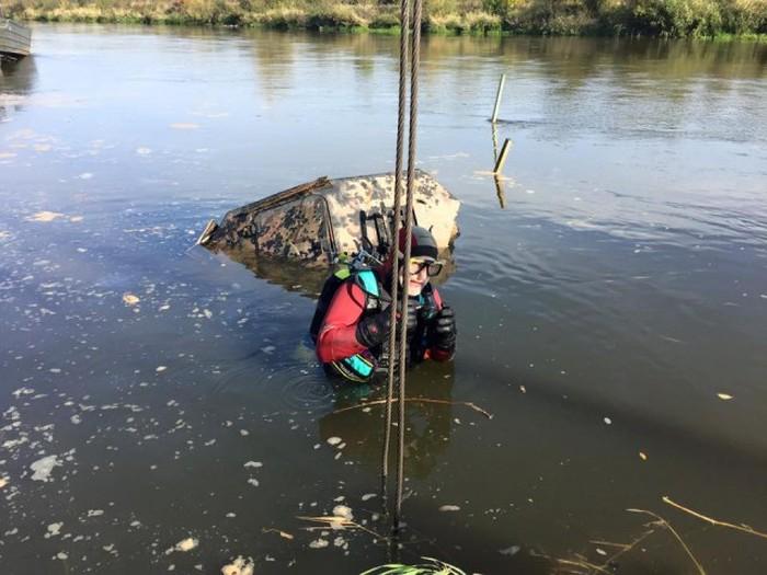 Wehrmacht War Machine Found In River After 70 Years