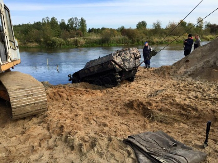 Wehrmacht War Machine Found In River After 70 Years