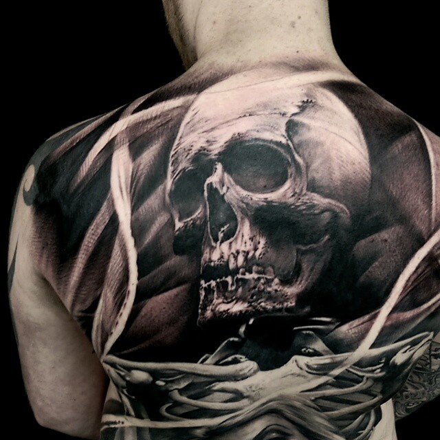 Matt Jordan Creates Some Really Crazy Tattoo Art