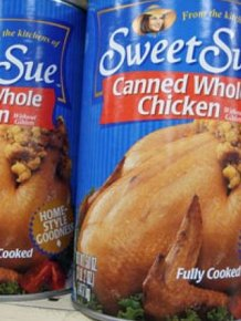 This Is What Canned Chicken Looks Like