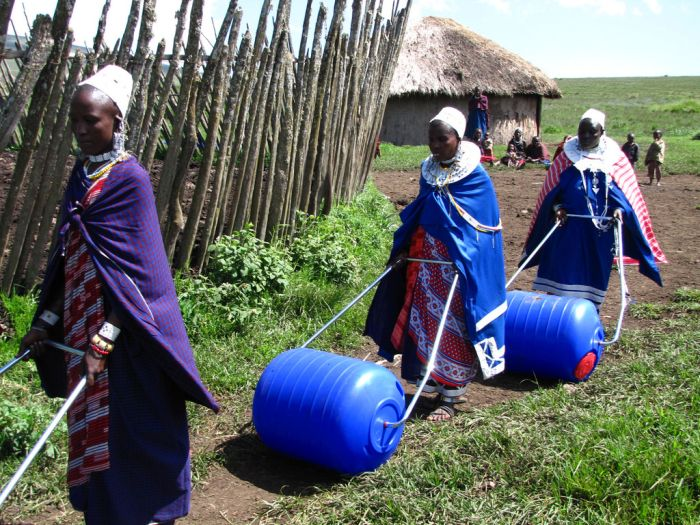 The Hippo Roller Is The Perfect Solution For People That Need To Move Water