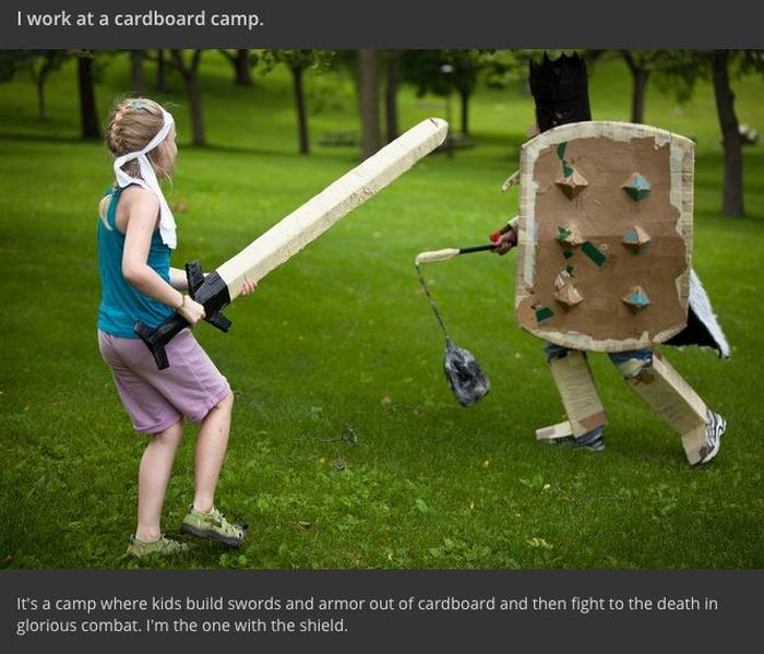 Cardboard Camp Introduces Your Kids To Roleplaying And Epic Battles