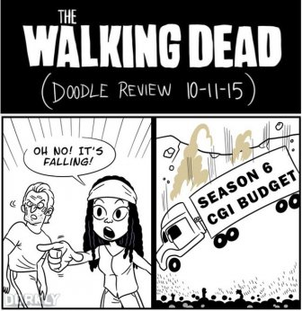 9 Doodles That Perfectly Sum Up The Walking Dead Season 6 Premiere