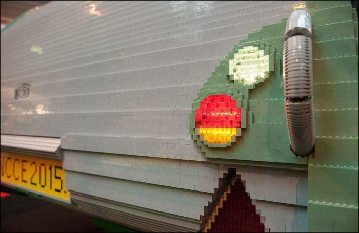 It Took 12 Weeks To Build This Lego Caravan