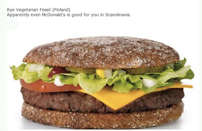 Real McDonald's Meals That You Can Get Around The World