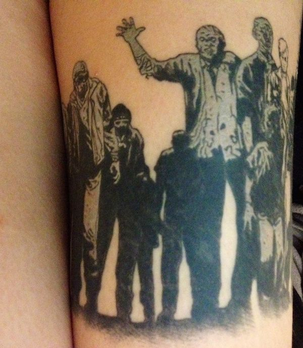It's Scary How Good These Walking Dead Tattoos Are
