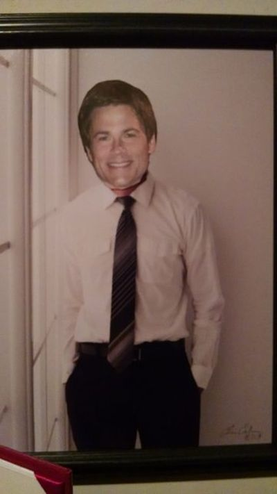 Kids Prank Their Parents By Posting Rob Lowe Faces Everywhere