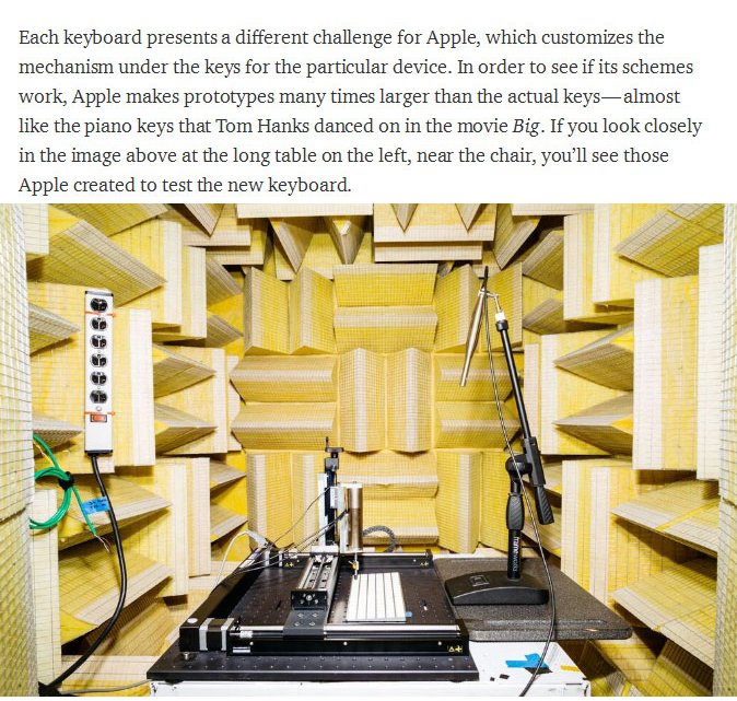 Go Behind The Scenes At Apple's Top Secret Input Lab