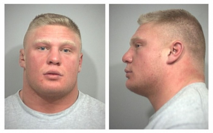 10 Wrestlers Who Got Busted With Embarrassing Mug Shots
