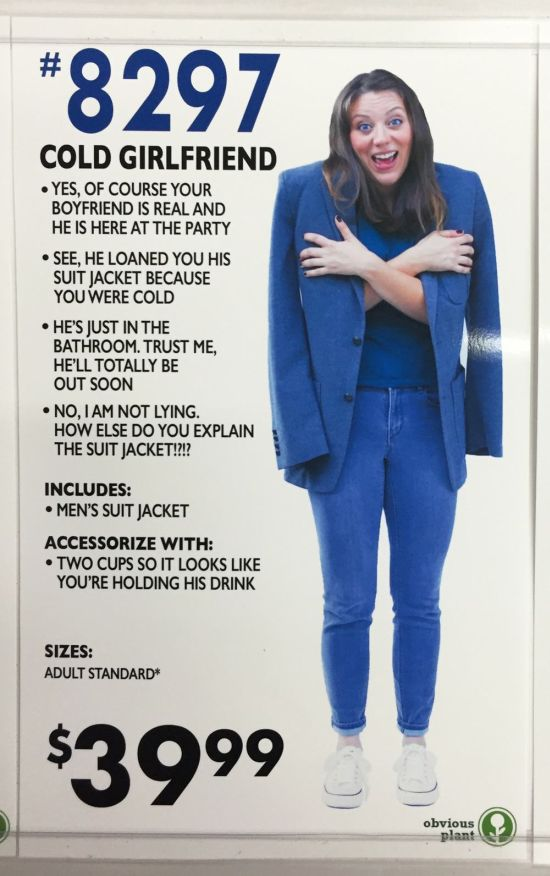 Fake Halloween Costumes That Are Funny And Terrifying
