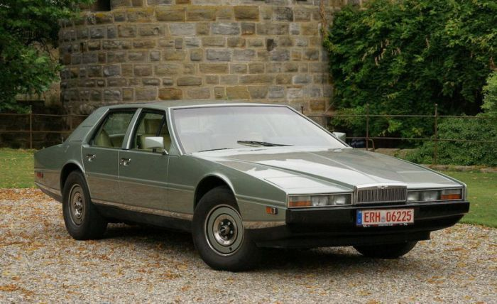 The Interior Of An Aston Martin Lagonda Is Out Of This World
