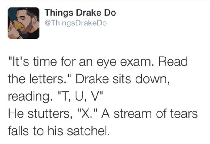Go Inside Drake's Head With Things Drake Does