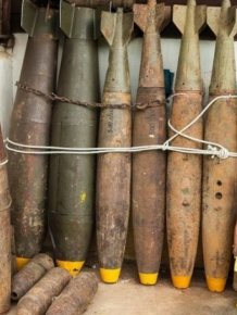 Citizens Of Laos Use Unexploded Bombs For Unexpected Purposes