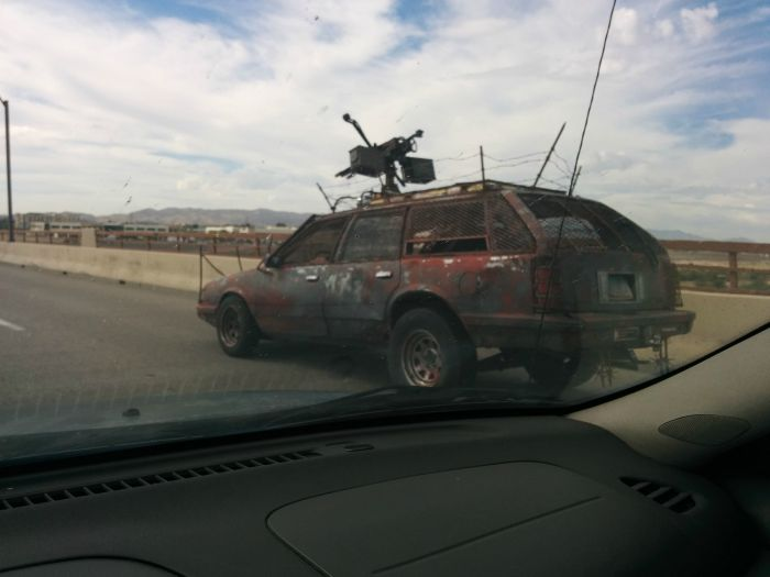 This Mad Max Style Car Is Roaming The Streets