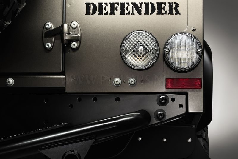 The concept of the new Defender from Land Rover