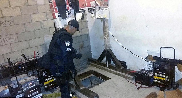 Mexican Authorities Discover Drug Tunnel Stretching Across The US Border