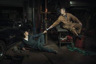 Awesome Auto Mechanics Recreate Renaissance Paintings