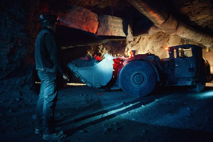An Inside Look At A Siberian Gold Mine