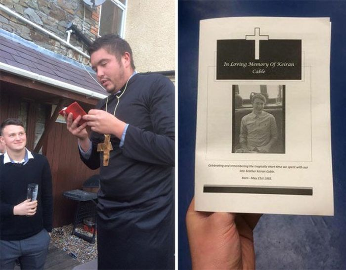 Friends Hold A Funeral For Man They Lost To A Relationship