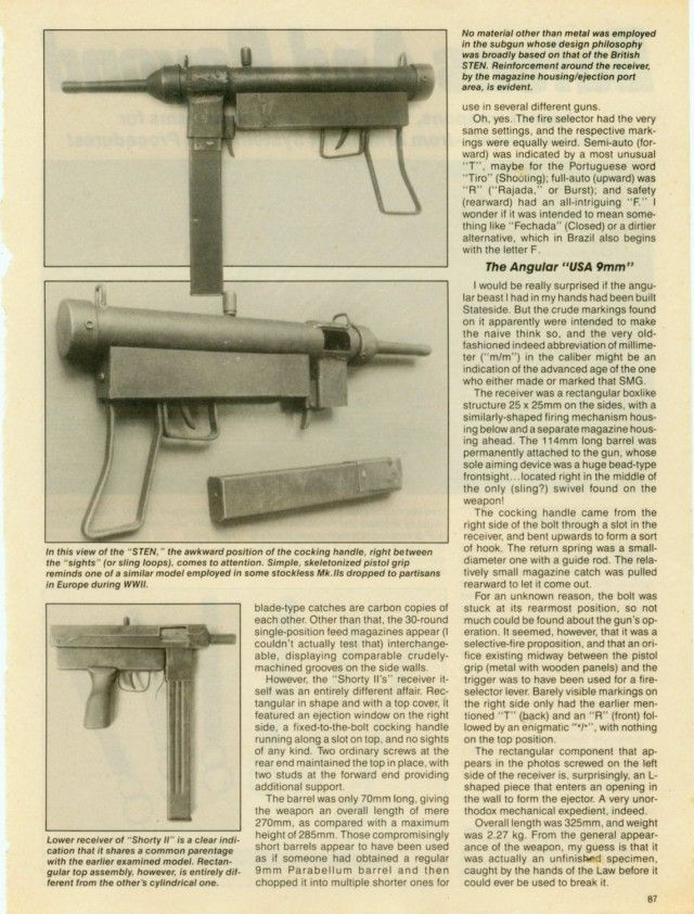 A Deadly Arsenal Of Home Made Guns