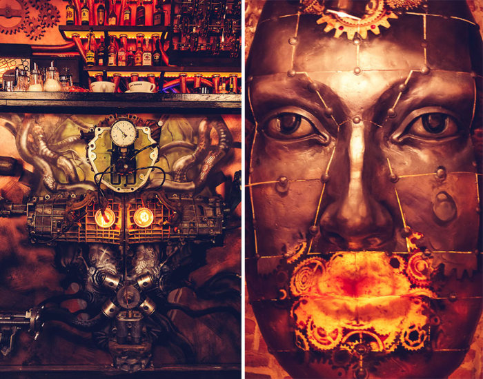 First Ever Kinetic Steampunk Bar Opens In Romania