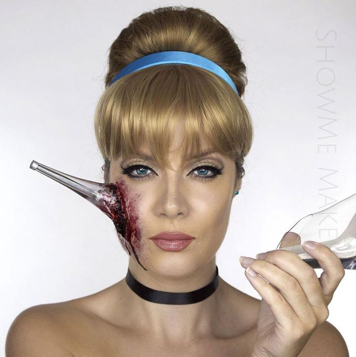 Make Up Artist Turns Models Into Dead Disney Princesses