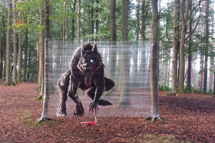 Pollok Park In Scotland Gets A Scary Makeover