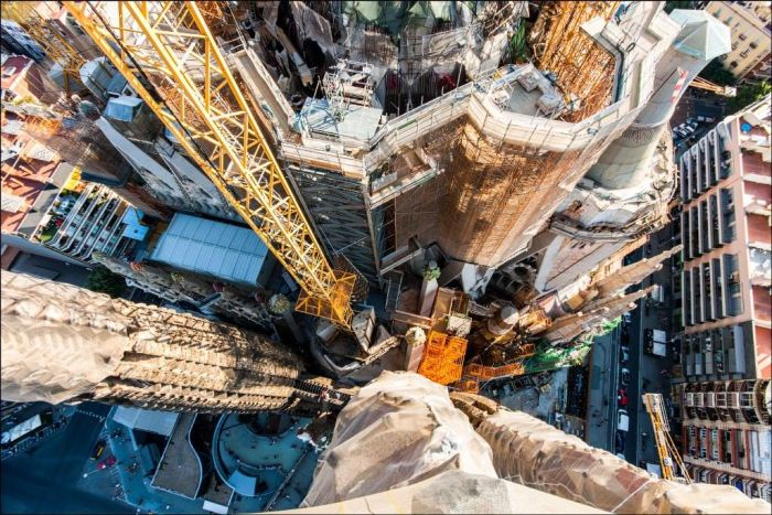 These Incredible Views Of The Sagrada Familia Are Unlike Anything You've Ever Seen