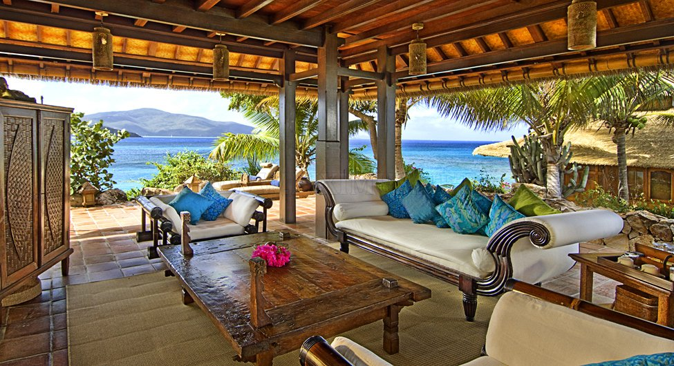 Necker Island - hotel on a private island