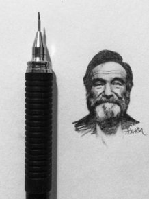 Artist Recreates Celebrity Photos Using Only A Pencil