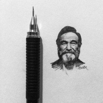 Artist Recreates Celebrity Photos Using Only A Pencil