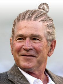 What World Leaders Would Look Like If They Started Wearing Man Buns