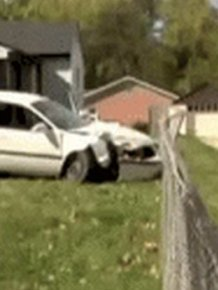 Guy Destroys His Ex-Girlfriend's Car Then Does Something Completely Insane