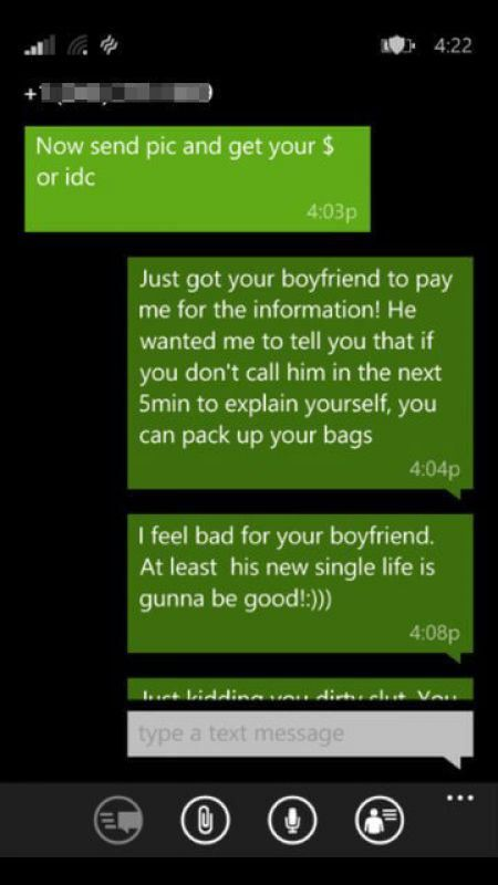 Girlfriend Gets Caught Trying To Cheat And Now She Might Be Homeless