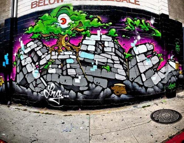 Graffitis callejeros , Megapost