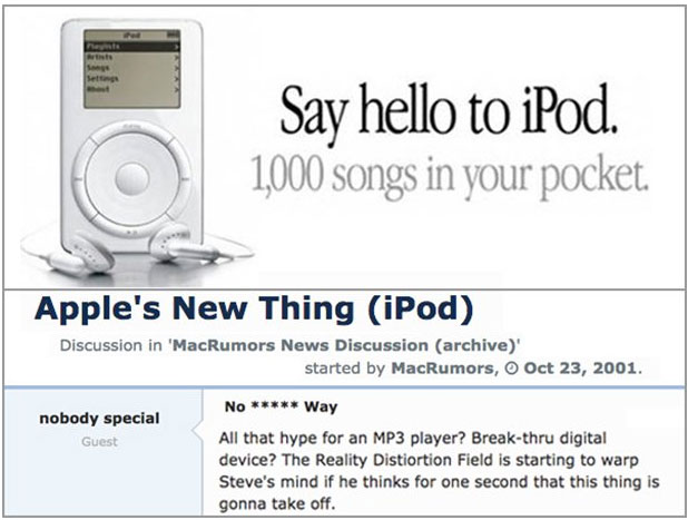 This Is How People Reacted To The Announcement Of The iPod In 2001, part 2001