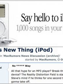 This Is How People Reacted To The Announcement Of The iPod In 2001