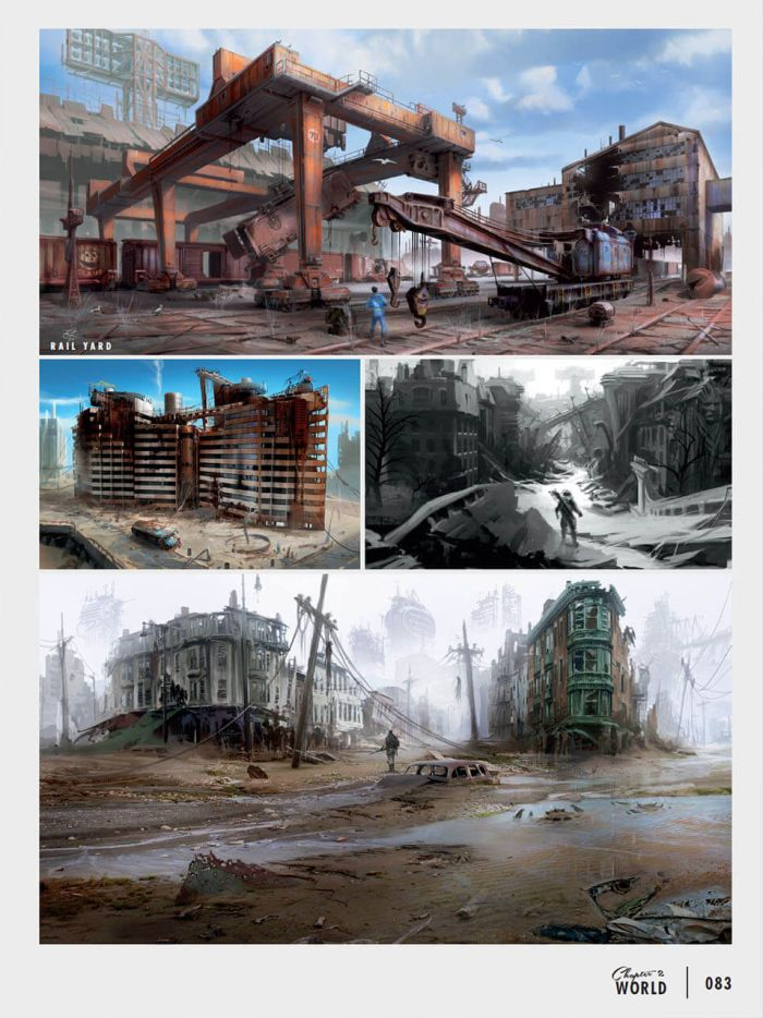 The Amazing Artwork Of Fallout 4, part 4