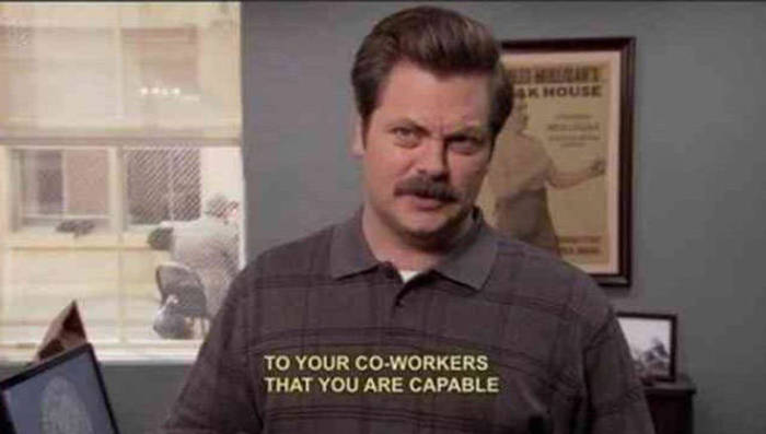 There's Nothing Quite Like The Ridiculousness Of Ron Swanson