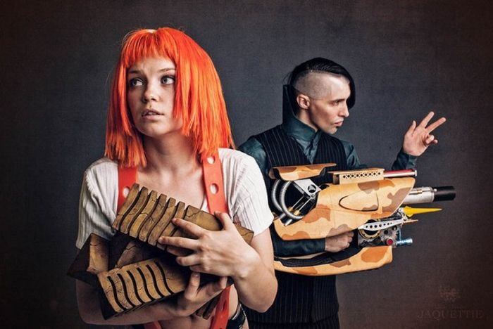 Cosplayer Totally Nails Leeloo From The Fifth Element