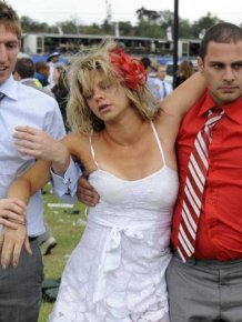Cars Aren't The Only Thing Getting Wrecked At The Races