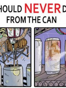 The Shocking Truth About Drinking Beer From A Can