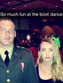 This Overly Serious Couple Is Having Way Too Much Fun