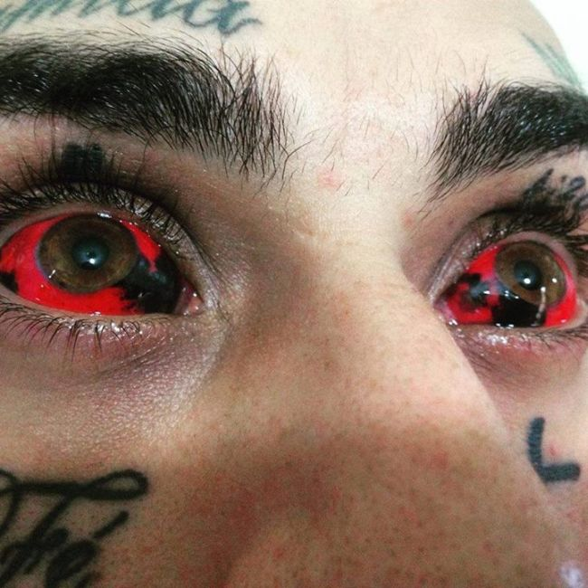 Eyeball Tattoos Are The Creepiest Trend Ever
