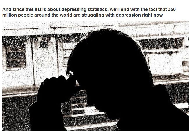 25 Statistics About The World We Live In That Are Just Plain Sad