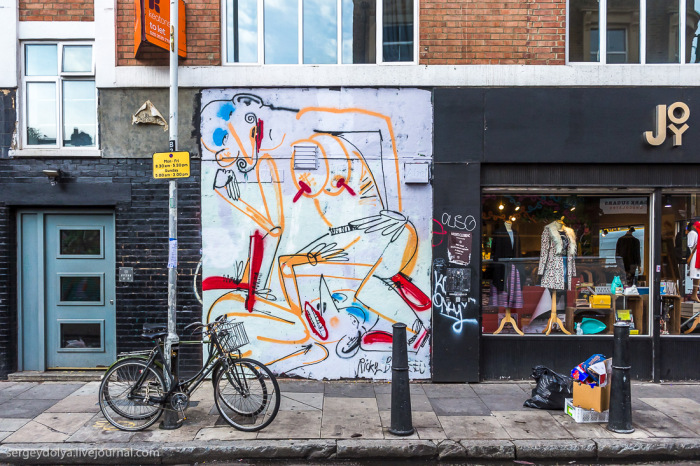 The Walls Of London Are Home To Some Modern Art Masterpieces