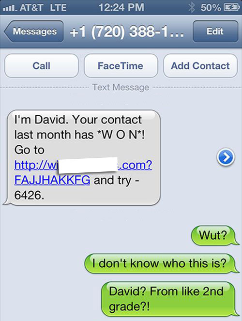 This Dude Had The Perfect Response When He Got Spam Texted
