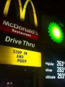 Hilarious Fast Food Signs That Would Definitely Make You Stop