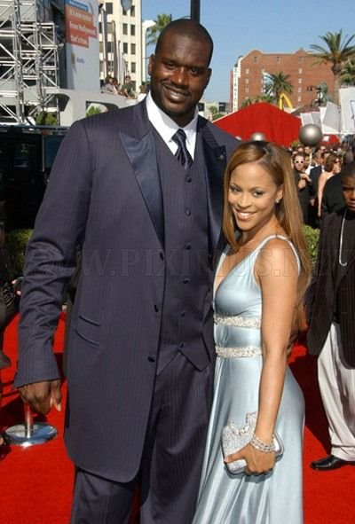 Shaquille O'Neal and Nicole 'Hoopz' Alexander